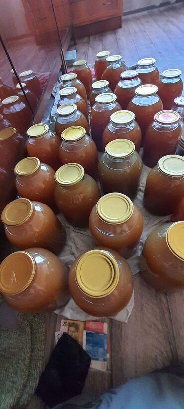 Другие продукты питания - Кыргызстан: Сок грушево-яблочный 100%натуральный.Чистый сок не разбавленый водой