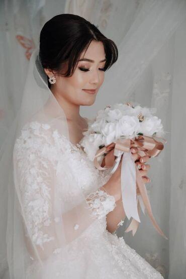 вышивка бишкек in Кыргызстан | ДРУГОЙ ДОМАШНИЙ ДЕКОР: Срочно продаю свадебное платье. Шила сама одевала один раз на своей св
