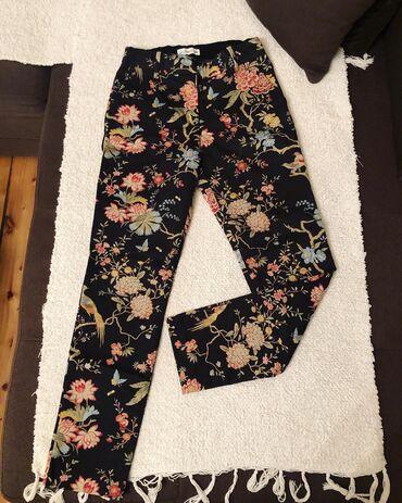 Nove H&M pantalone, veličina je 36, imaju lastiš u struku, rastežu