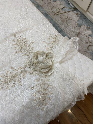 Шикарное Турецкое Королевское покрывало на кровать  Состояние идеально