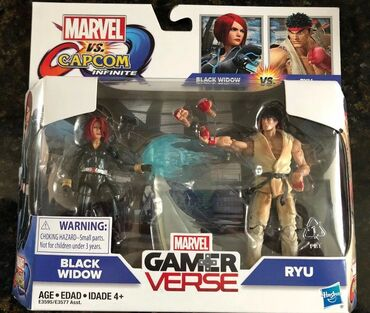 Gamerverse Marvel vs. Capcom Black Widow vs. Ryu  Novo i neo