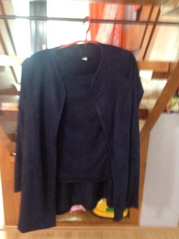 Sako i suknja  velur vel 42 - Svilajnac