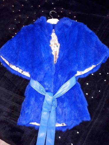 topchany s kryshej в Кыргызстан: Меховая жилетка-кролик. Одевалась один раз. Подойдет на S-M