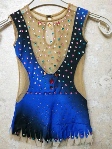 Продаю купальник для художественной гимнастики рост 110-120 в Бишкек