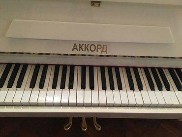 Pianino AKKORD Əla vəziyyədədi. Cadırılma və köklənmə pulsuzdu