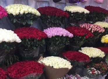 Цветы от Согдианы--Роза метр 101 роза сомТюльпаны 🤍Фрезии Лилии