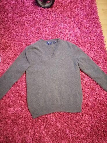 Muška odeća | Crvenka: Mupki dzemper, nov (opran i skupio se), vuna mekana, sad je M/L