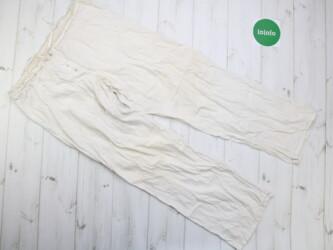 Женские хлопковые, летние штаны из Индии,р.l Длина: 98 см Пояс: 43 см