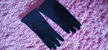 Crne elegantne rukavice 500 din