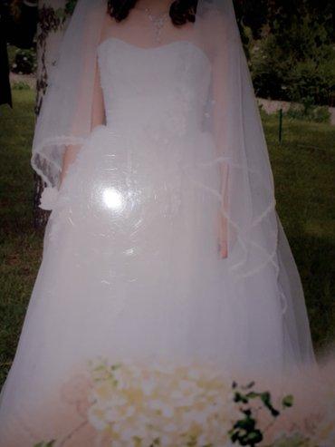 Продаю свадебное платье в отличном состоянии. в Бишкек