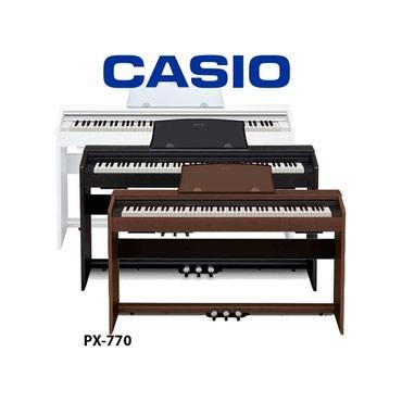 репетитор пианино в Кыргызстан: Цифровое пианино. скидки!!! официальный представитель компании Casio в