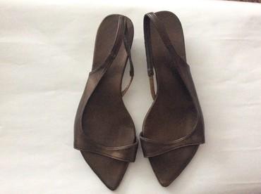 Sandale, par puta nosene, broj 39, koža - Nis