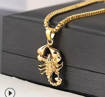 Кулон скорпион. Стильный и модный