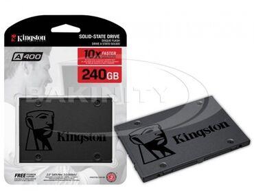 """noutbuklar - Azərbaycan: Sərt disk """"SSD Kingston 240GB """"ÜMUMI MƏLUMATTip: Sərt Səthli Disk"""