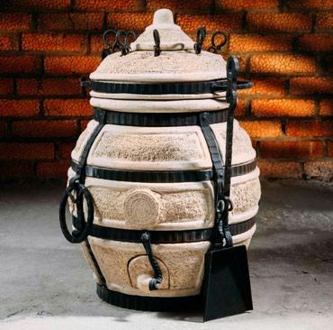 """Тандыр """"Донской""""Изготовлен из шамотной глины.Толщина стенки 5см.Высота"""