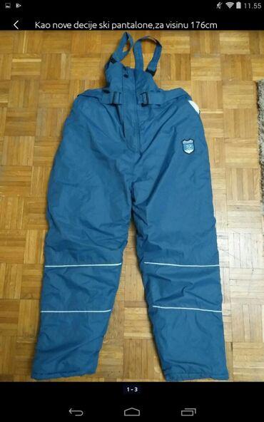 Muška odeća | Obrenovac: Kao nove dečije ski pantalone za visinu 176cm