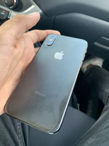 Мобильные телефоны и аксессуары - Азербайджан: IPhone X | 64 ГБ | Серый (Space Gray) Б/У