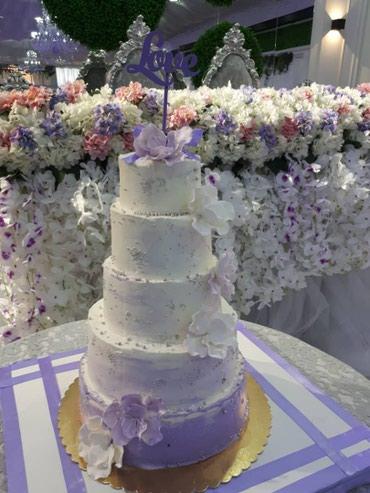 Здравствуйте делаем торты на заказ в Бишкек