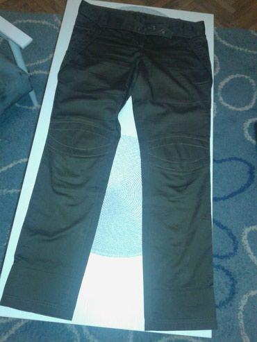 Braon pantalone nosene u solidnom stanju.prelep model. - Valjevo