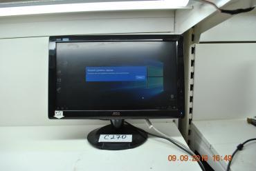 Монитор AOC 19 19 Дюймов Разрешение Экрана 1367x768 VGA Выход Подойдет