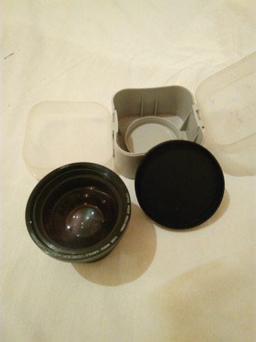 Obyektivlər və filtrləri Masallıda: Super geniş obyektiv (Super Wide Pro 5050 0.5x Wide Angle Lens) Yapon