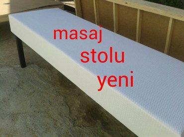 Bakı şəhərində Kusetka teze  masaj stollari bas terefleri qalxib ennener 120 manat