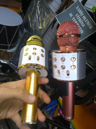 Musiqi alətləri - İmişli: Karaoke mikrafonlari RK GROUP da