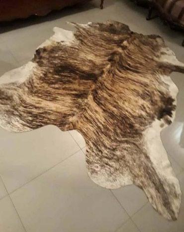 Коврик из коровьей шкуры ,размер 250 см х 200 см,новая. в Бишкек