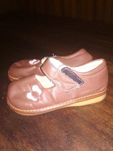 Продаю кожанные туфельки на девочку а отличном состоянии 25 размер в Сокулук
