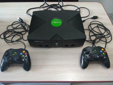 Xbox original в отличном состоянии с двумя оригинал геймпадами, родные в Бишкек