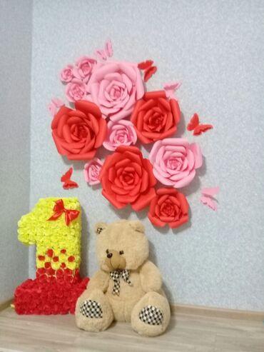 Декоративные цветы. на заказ !цена договорная
