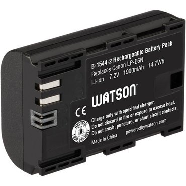 новое. Watson lp-e6n lithium-ion battery pack (7. 2v, 1900mah)  canon в Бишкек