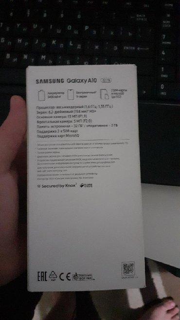 Samsung в Нардаран: Б/у Samsung A10 32 ГБ Черный