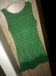 Mini zelena haljina XS - Belgrade