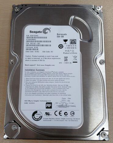 Продаю жесткий диск seagate baracuda 500Gb.Отличное здоровье, без