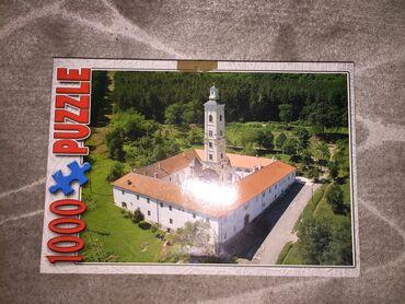Puzzle - Srbija: Puzzle 1000 (na kutiji sa strane ima zalepljen selotejp zbog selidbe)