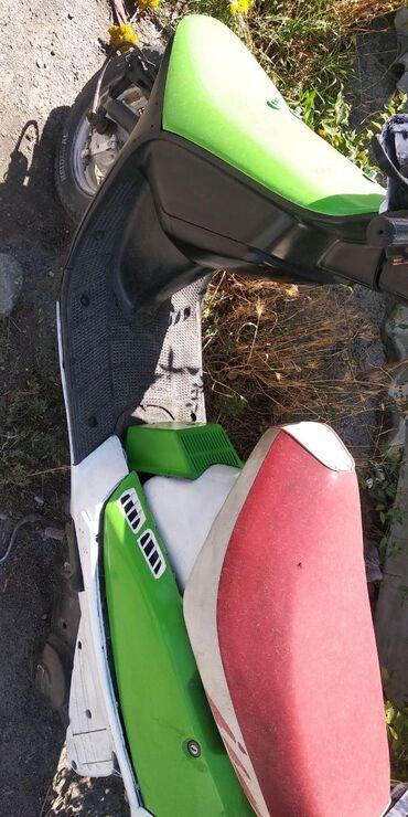 Скутер Хонда Япония. Коптильный ремонт двигателя. В хорошем