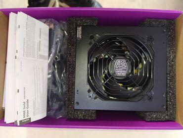 Модульные блоки питания Cooler master 550w Сертификат голд