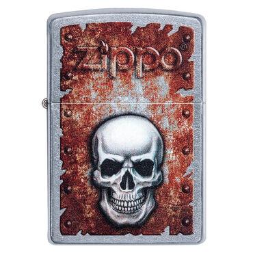 zippo зажигалка в Кыргызстан: Zippo Ржавый череп. Большой выбор зажигалок. Только оригинал. В