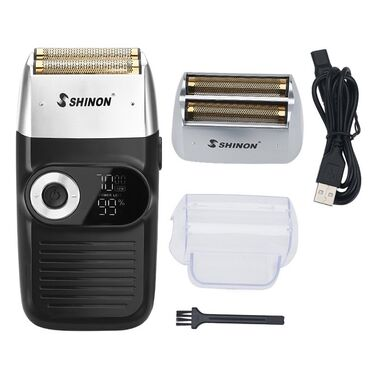 Шейвер и триммер для бритья и оконтовки 2в1  SH-7175