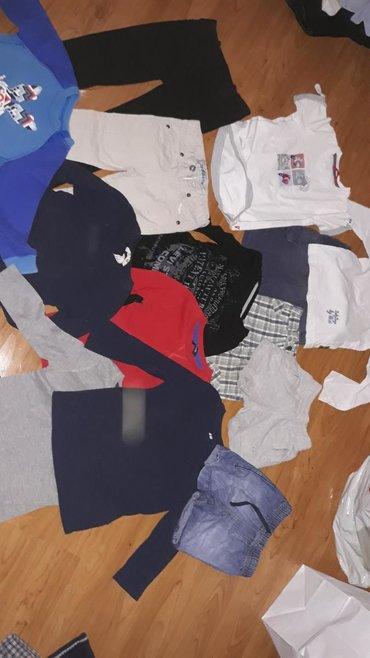 86-92. Paket odeće 1200. 6 diksica tanjih, plavi Nike na poklon jer