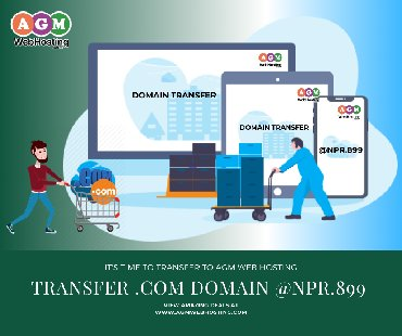 Buy Domain.Com @NPR.999/year only on AGM Web HostingDescription: Now