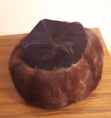 Продаю б/у мужскую норковую тюбетейку. в Бишкек