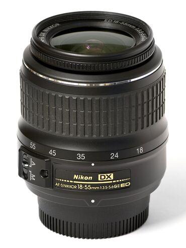 Foto i videokameri | Srbija: Objektiv AF-S, 18-55mm  Objektiv je potpuno ispravan, ima samo jednu m