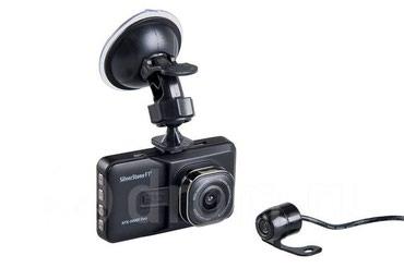 Фирменный видеорегистратор с двумя камерами. Silver Stone. в Бишкек