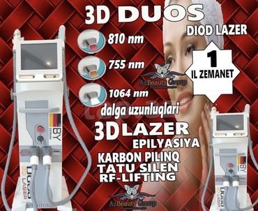 - Azərbaycan: Lazer epilyasiya aparatı Duos 3D Lazer - FotoEpilyasiya - Cavanlaşma -