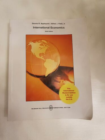 Nl international shampuni - Кыргызстан: Книга по международной экономики на английском языкеочень редкий