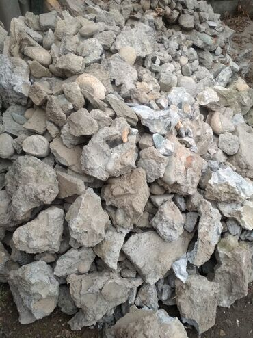 Отдам даром ломаный бетон в рабочем городке