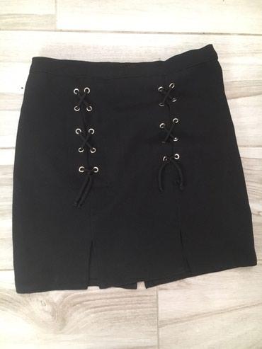 Duzina struk suknja - Srbija: Nikad nosena suknja XLDuzina 45cmStruk 40 siri se do 50cm u poluobimu