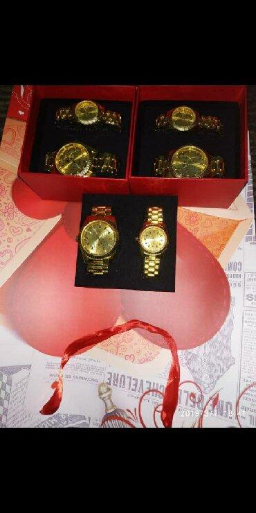 часы все цвета в Кыргызстан: Продаю мужские часы (уступлю). Новый золотистого цвета)) +